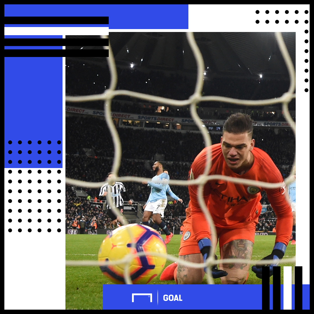 Ederson Manchester City Newcastle PS