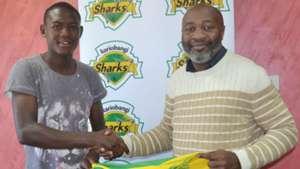 John Otieno from Nakuru All Stars FC for Kariobangi Sharks.