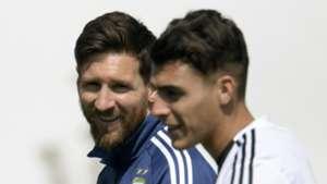 Messi Pavon Argentina Trainning 20062018