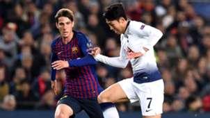 Heung-Ming Son Juan Miranda Barcelona Tottenham UCL 11122018