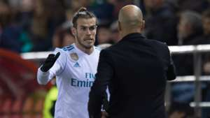 Gareth Bale Zinedine Zidane Numancia Real Madrid Copa del Rey