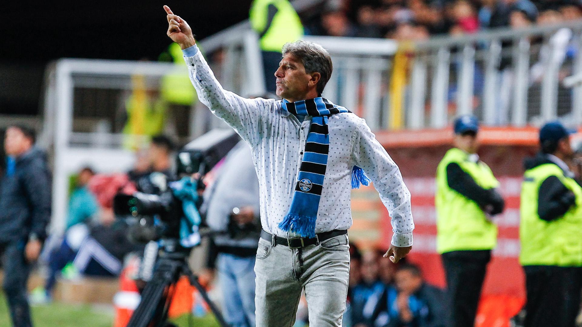Renato Gaucho Deportes Iquique Gremio Libertadores 03052017