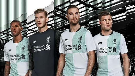 a289a0a4859 Liverpool unveil new away kit for 2017-18 campaign