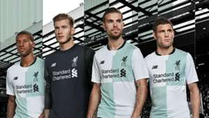 20c205de6 Liverpool unveil new away kit for 2017-18 campaign