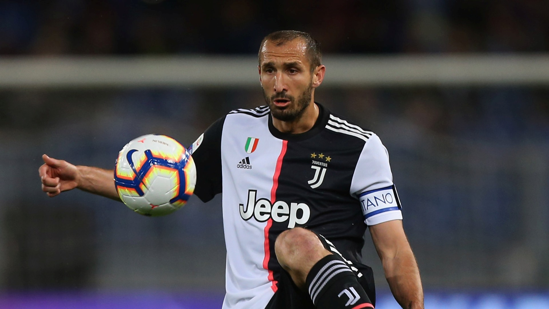 Infortunio per Chiellini, a rischio la tournée in Asia