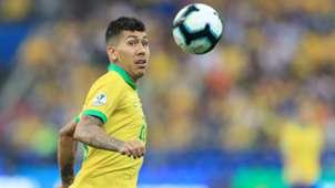 Roberto Firmino Brazil Peru Copa America 2019
