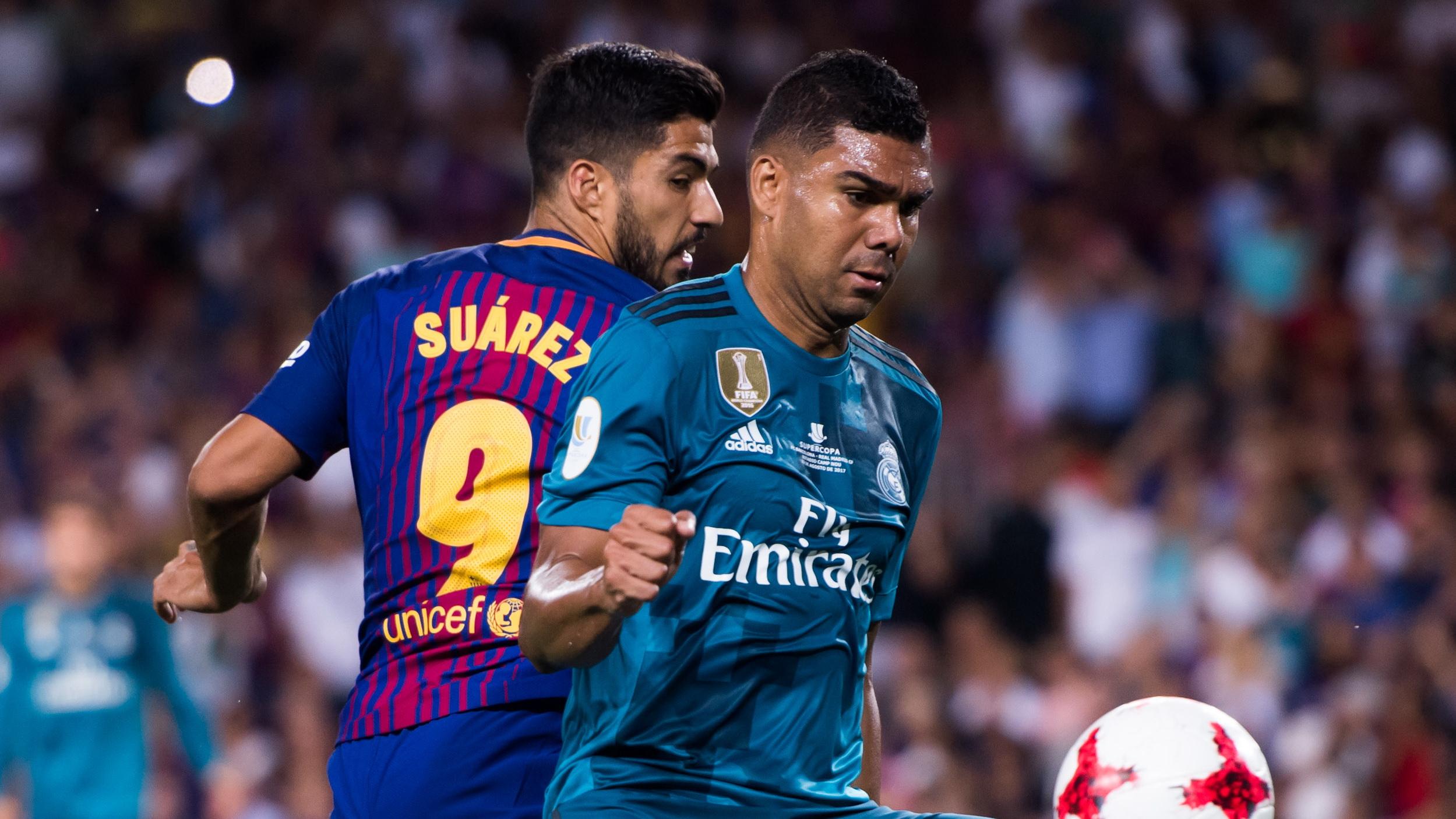 Casemiro Real Madrid Luis Suarez Barcelona