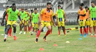 Gokulam FC practice