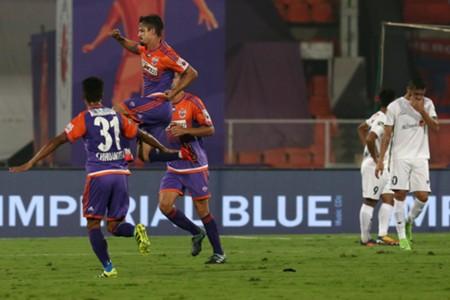 Marcelinho FC Pune City NorthEast United FC 2017/18 ISL