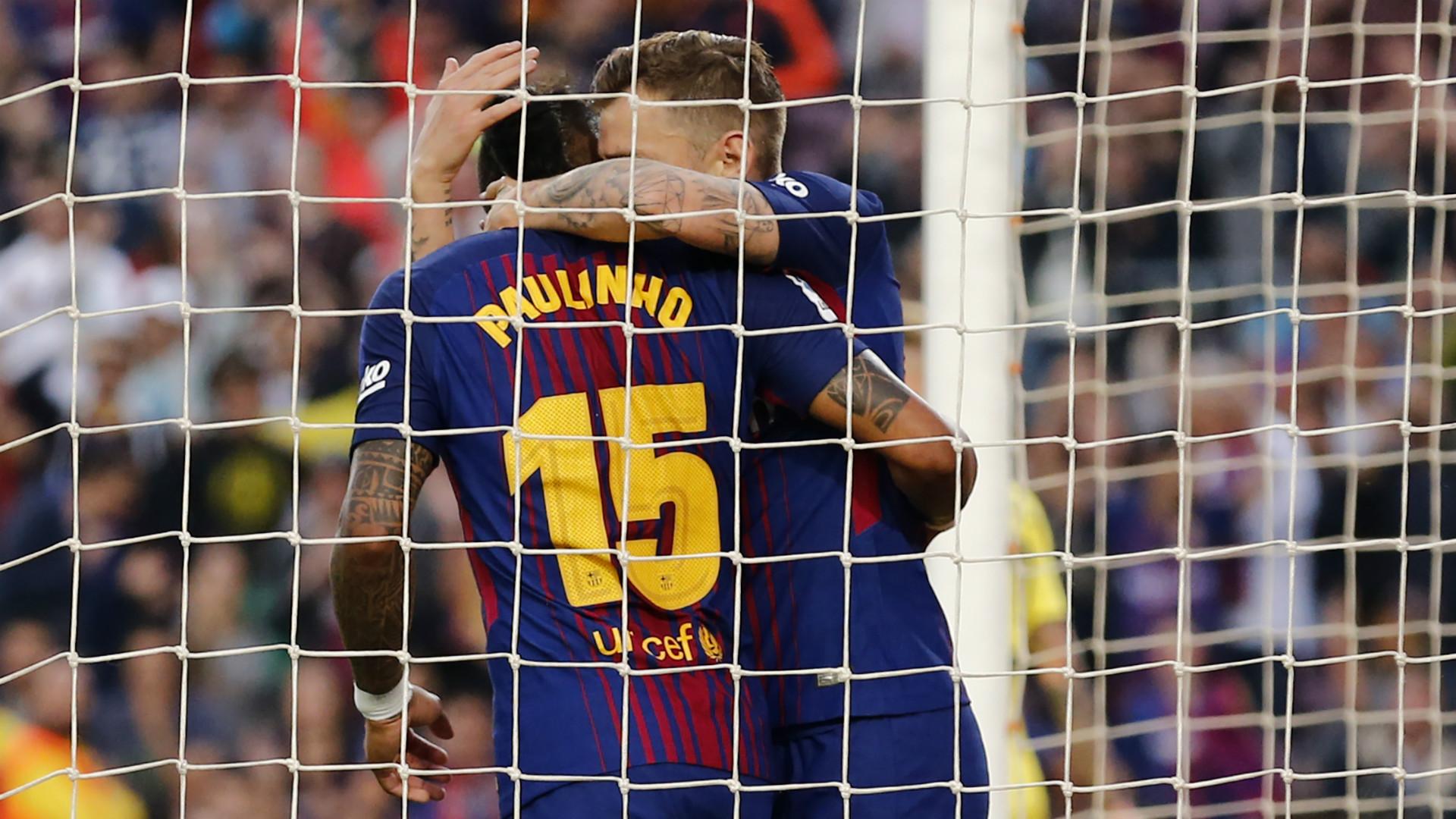 Paulinho Digne Barcelona Villarreal LaLiga