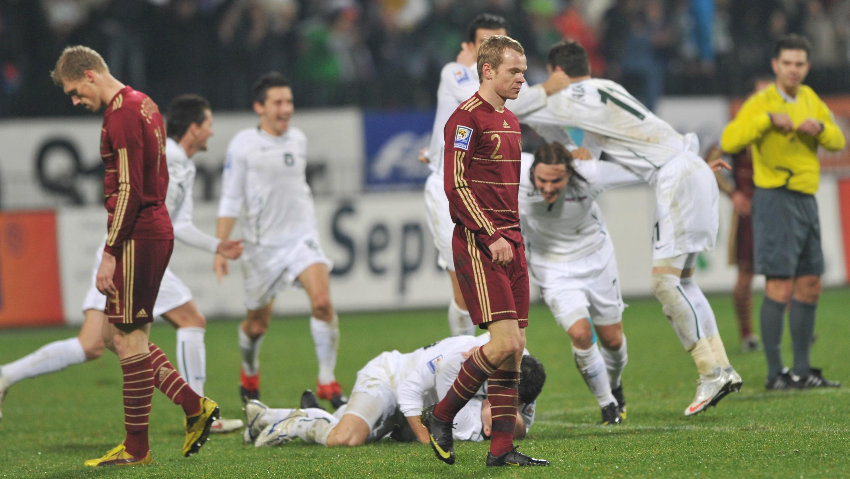 Russia vs Slovenia 2009