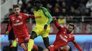 Abdoulaye Toure Romain Amalfitano Dijon Nantes Ligue 1 28102017