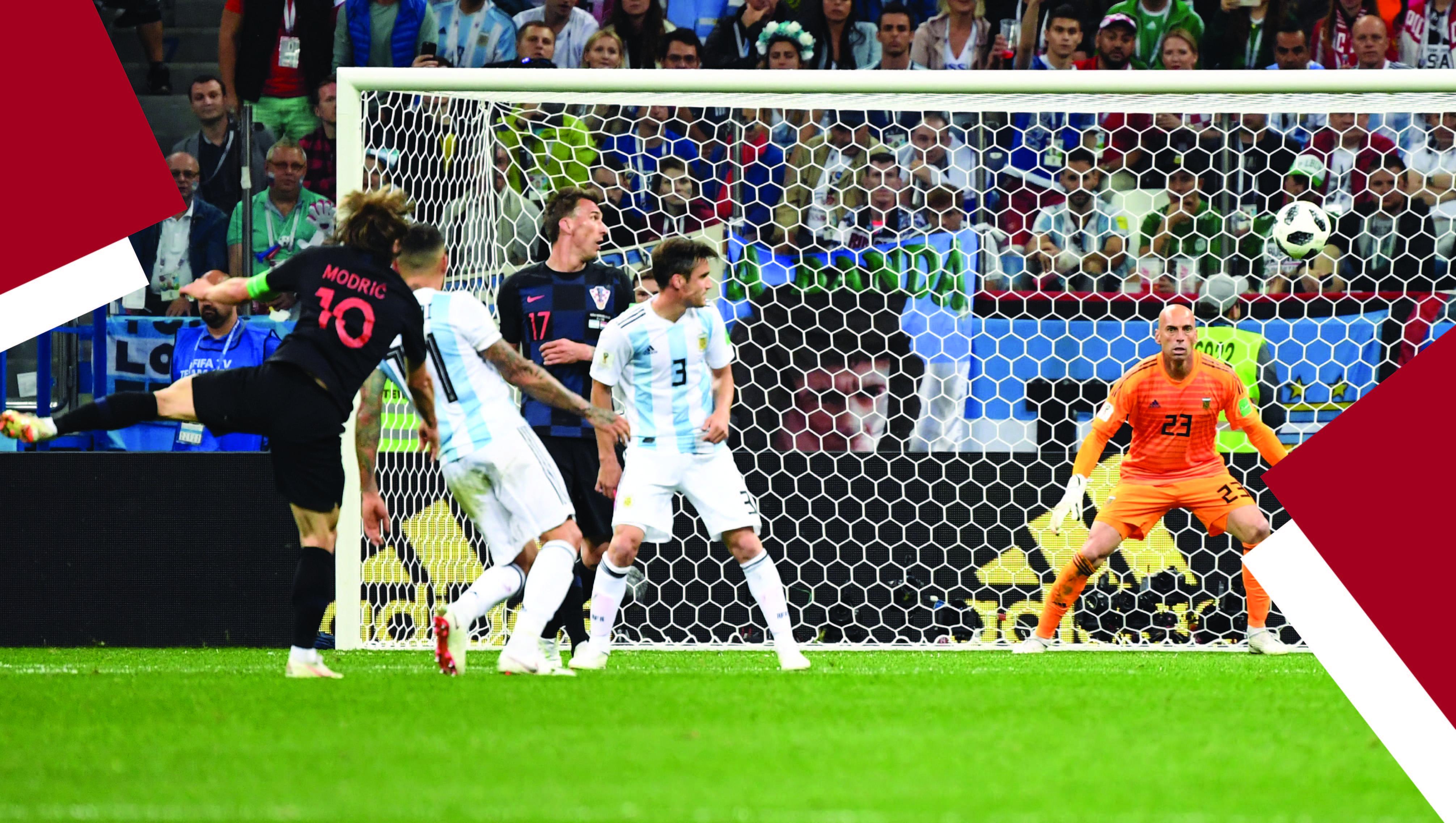 KFC Moments Modric goal
