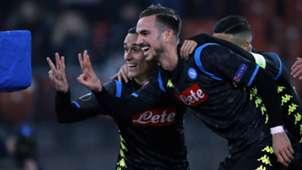 Callejon Fabian Ruiz Zurigo Napoli Europa League