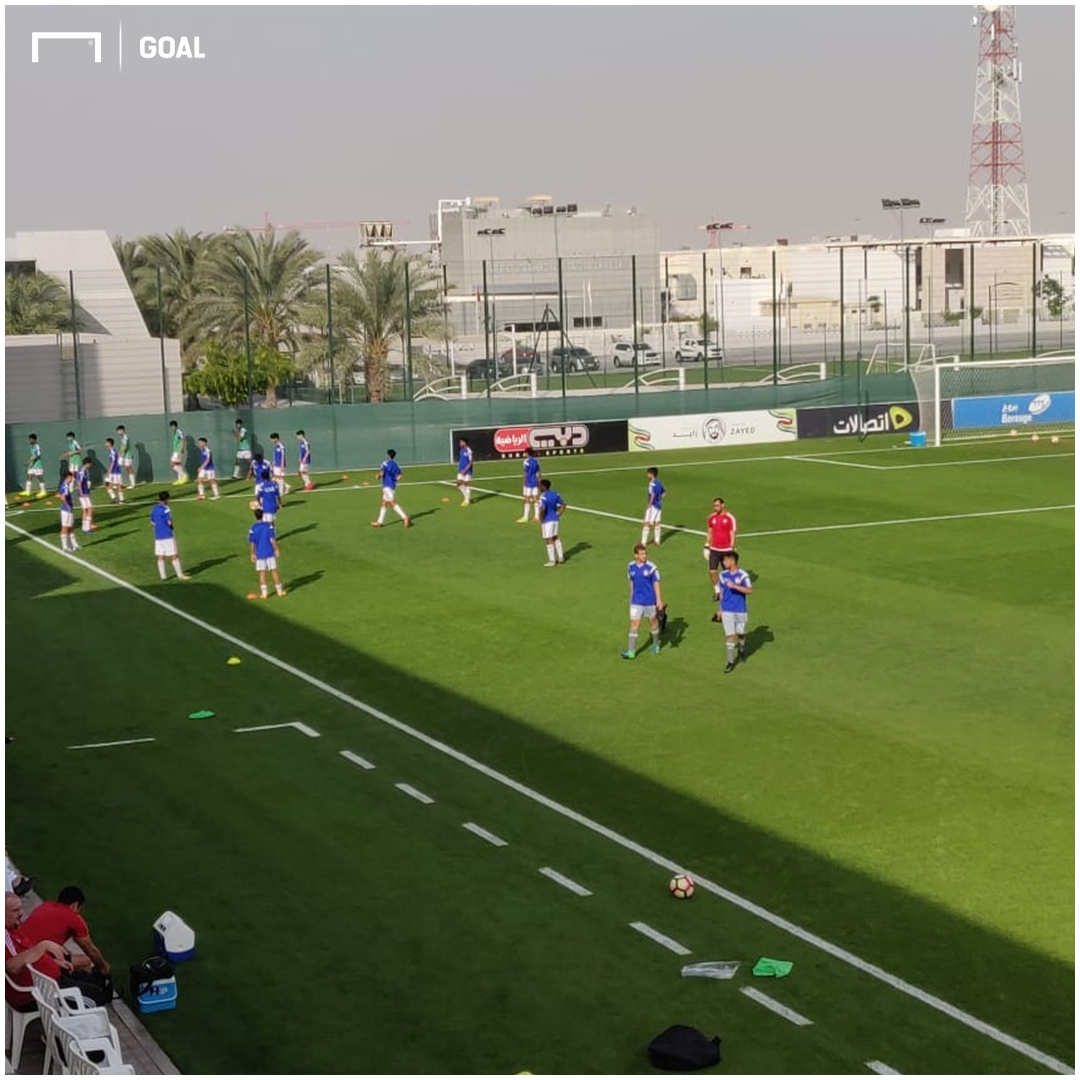 UAE U-16 v Ind U16