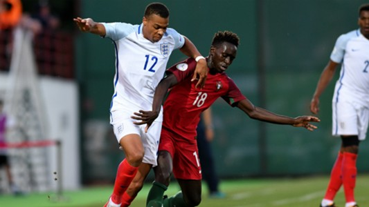 Lukas Nmecha England Portugal Under-19