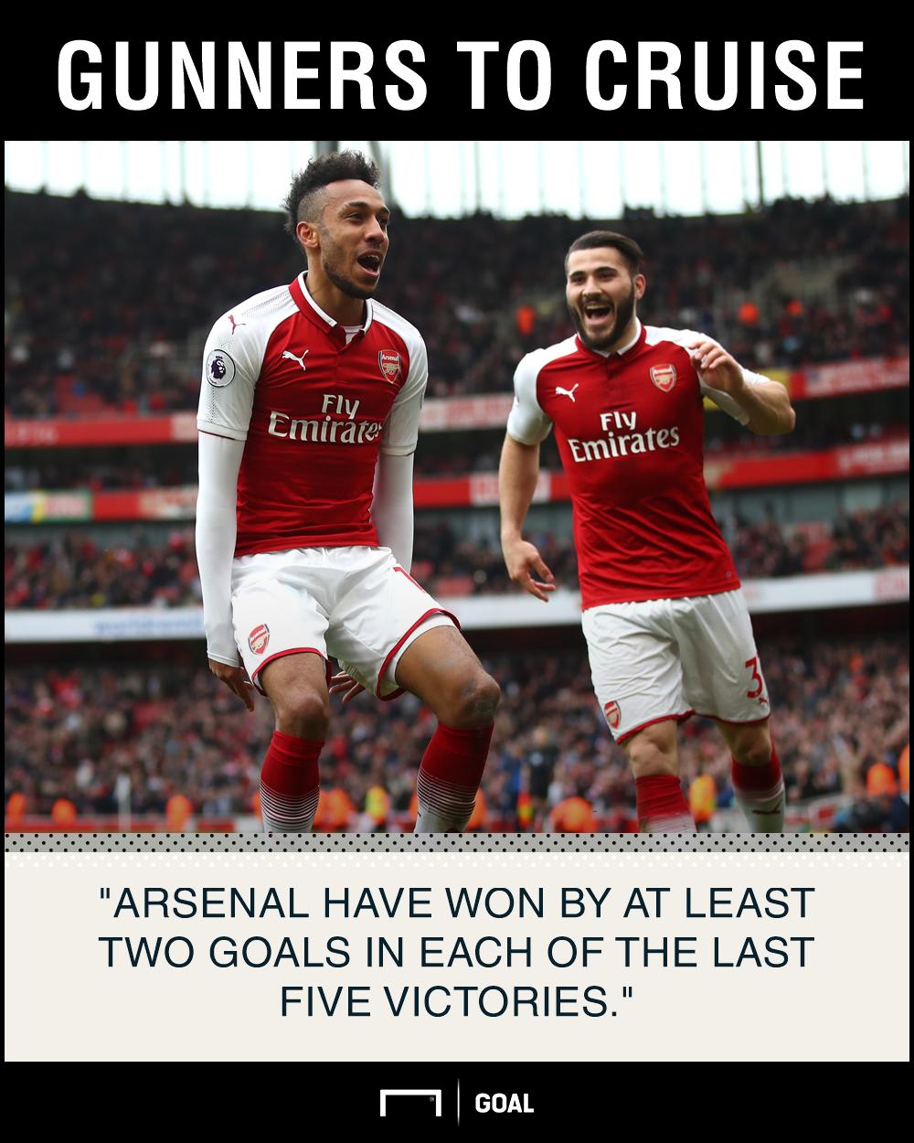 Arsenal Stoke graphic