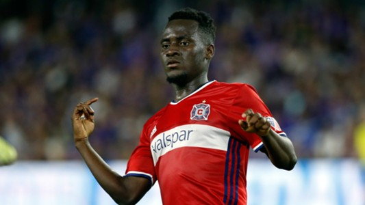 David Accam MLS Chicago Fire 06042017