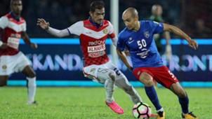 Natxo Insa, Indra Putra Mahayudin, Johor Darul Ta'zim, Kelantan, Super League