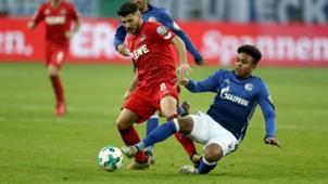Weston McKennie Milos Jojic Schalke 04 1. FC Köln 19122018