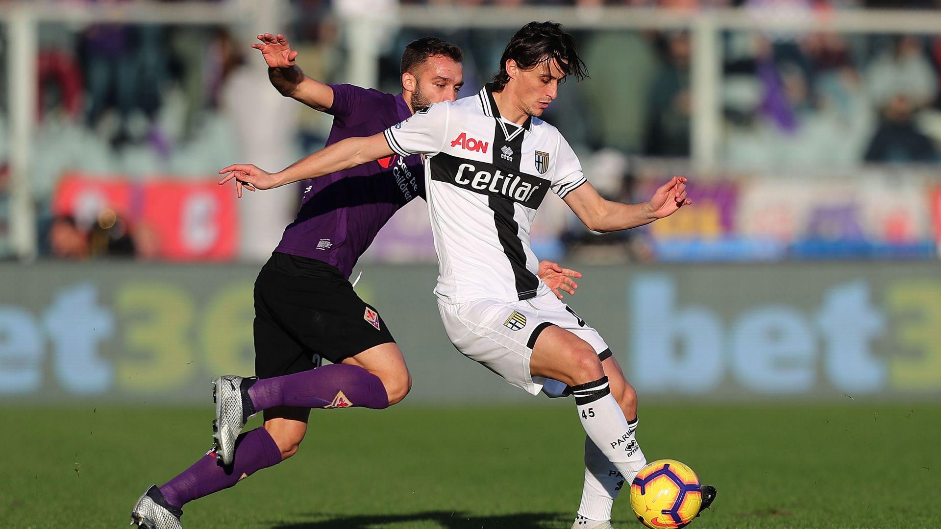Roberto Inglese Fiorentina Parma Serie A