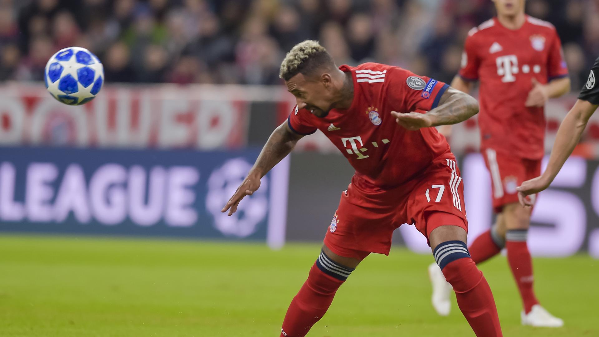 Jerome Boateng FC Bayern Champions League 02102018
