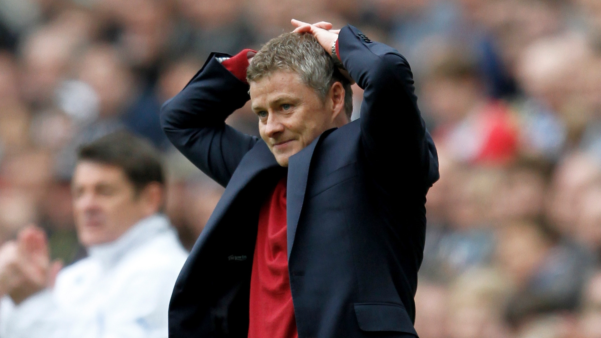 Solskjaer - Manchester United 'almost in driving seat' to finish top four