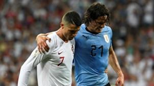 cavani Cristiano Ronaldo Portugal Uruguai Copa do Mundo 30 06 2018