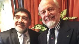 De Laurentiis Maradona Napoli