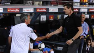 Jose Mourinho Tito Vilanova Real Madrid Barcelona 2012