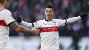 ERIK THOMMY STUTTGART GERMAN BUNDESLIGA 24022018