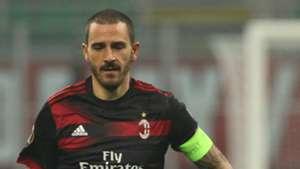 Leonardo Bonucci Milan Austria Wien UEFA Europa League 11232017