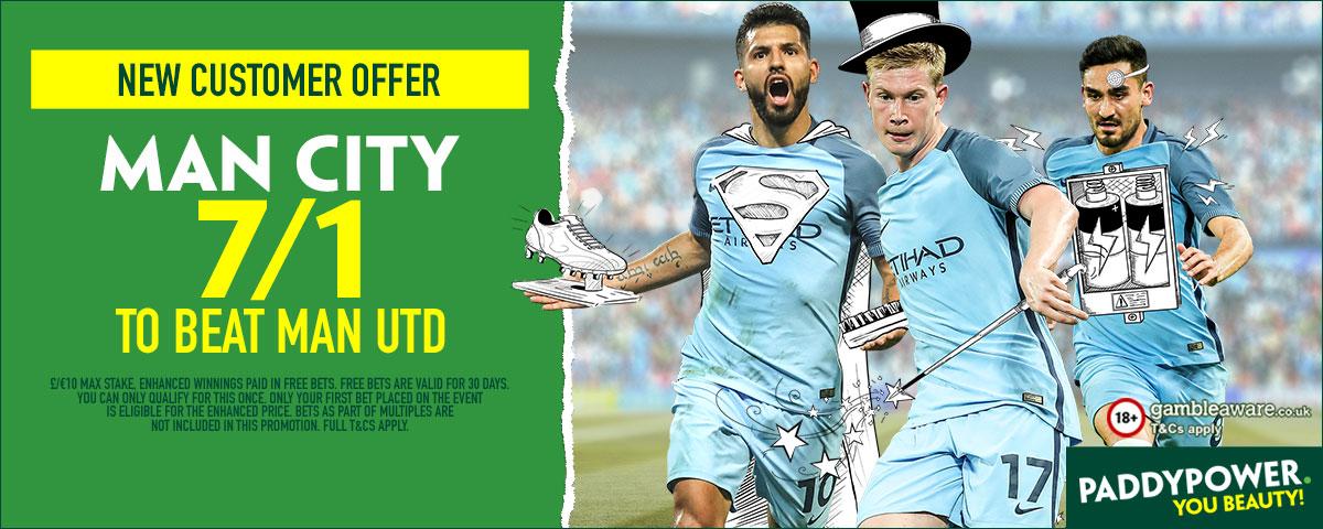 GFX Man Utd Man City enhanced betting