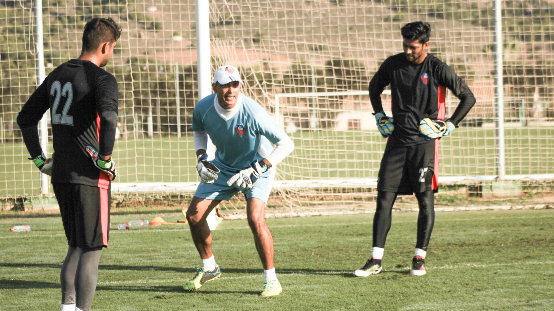 Naveen Kumar Virender Singh Laxmikant Kattimani FC Goa