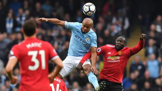 Vincent Kompany Manchester City Manchester United Premier League