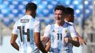 Facundo Medina Anibal Moreno Argentina Uruguay Sudamericano Sub 20 07022019