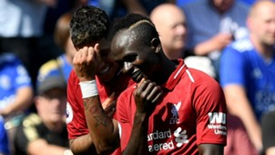 Sadio Mane Roberto Firmino Liverpool 2018-19