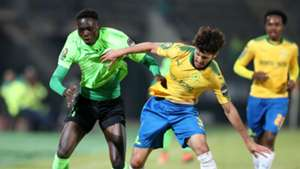 Fares Hachi of Mamelodi Sundowns vs AS Vita Club