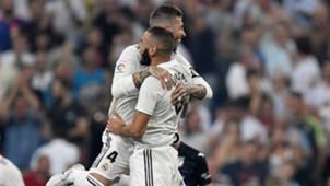 Sergio Ramos Karim Benzema Real Madrid Leganes LaLiga 01092018