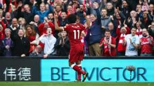 Mohamed Salah Liverpool Burnley Premier League