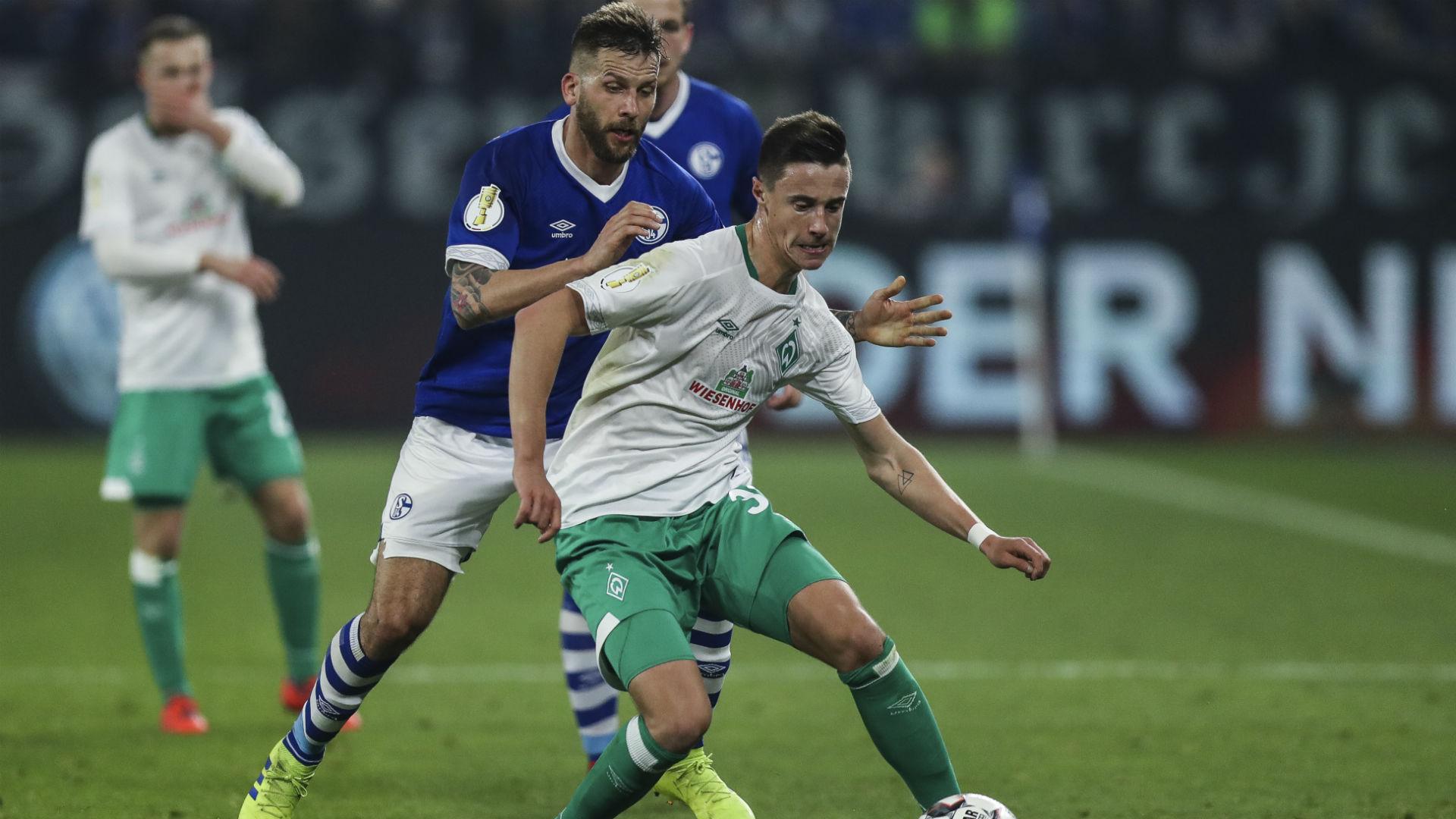 Marco Friedl Guido Burgstaller Werder Bremen 2019