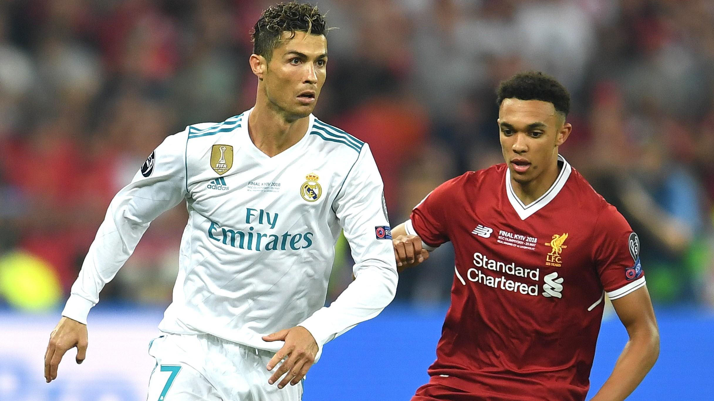 Cristiano Ronaldo Trent Alexander-Arnold Real Madrid Liverpool UCL