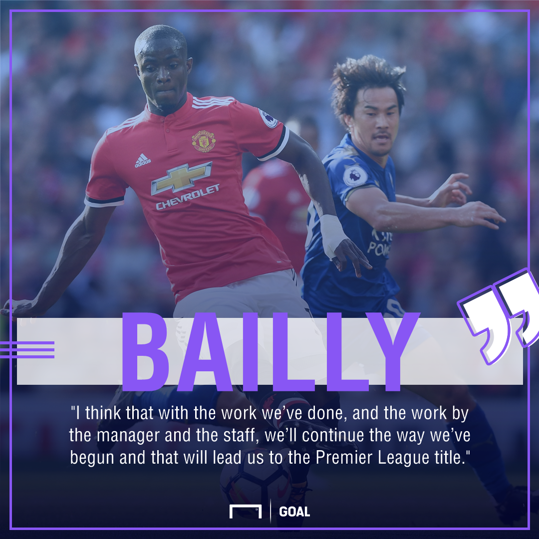 Eric Bailly Manchester United title