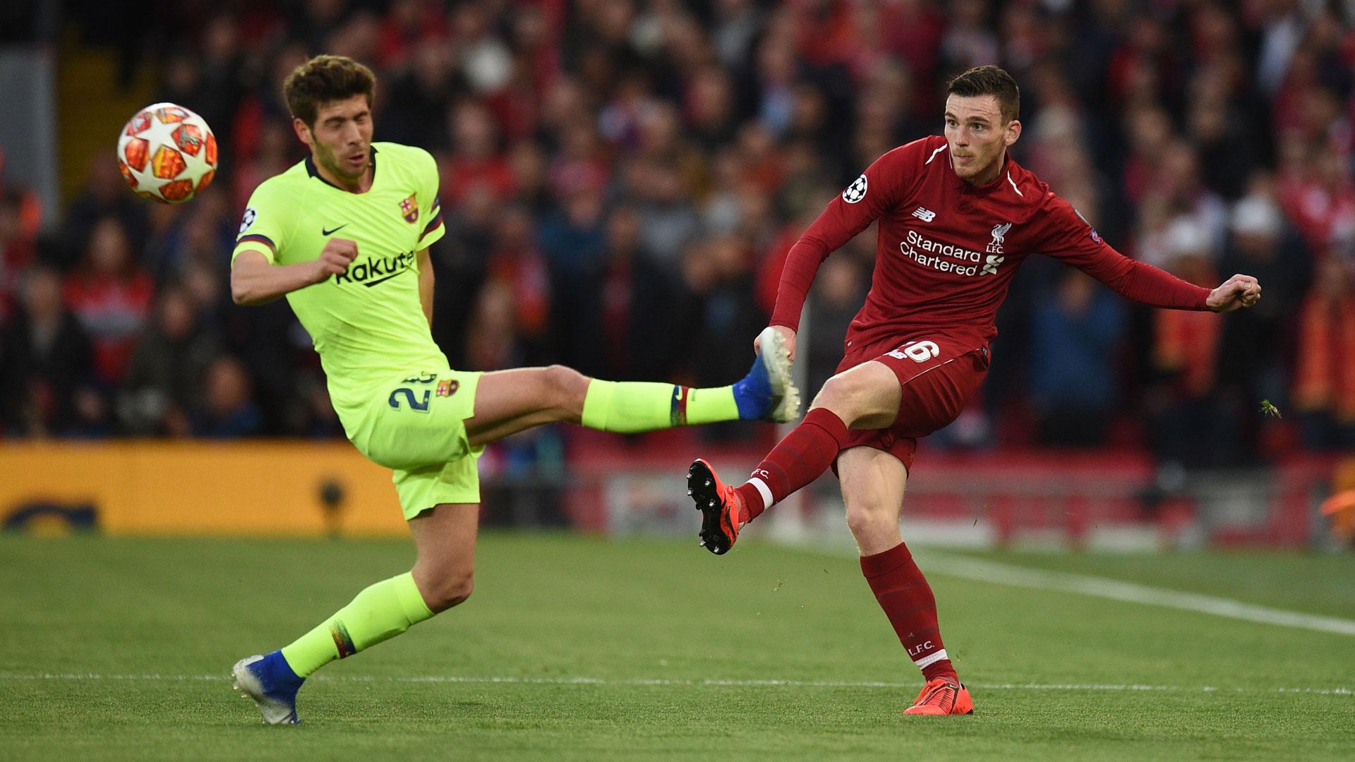 Andrew Robertson FC Liverpool FC Barcelona Champions League 07052019