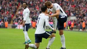 Tottenham Southampton Kane Son 26122017
