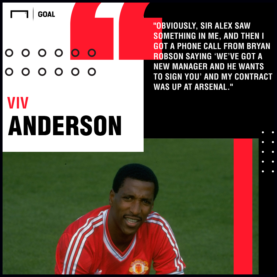 Viv Anderson Manchester United PS