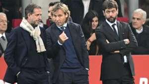 Agnelli Paratici Nedved Juventus Serie A