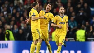 Giorgio Chiellini Mario Mandzukic Real Madrid Juventus