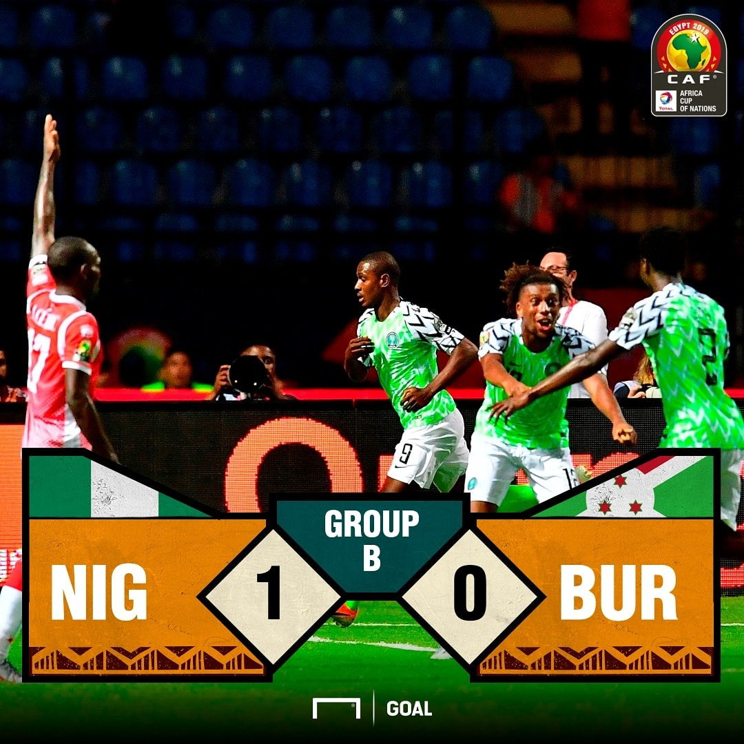 Nigeria score PS