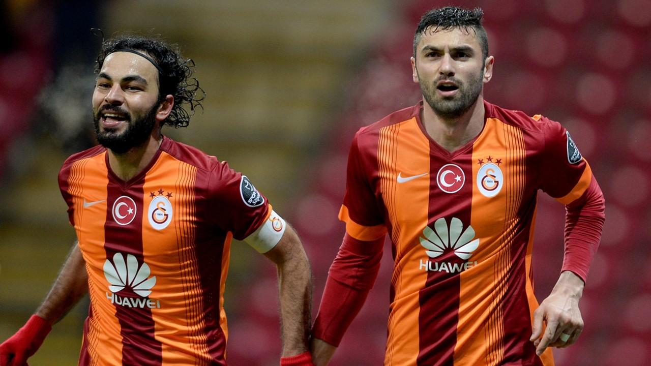 Selcuk Inan Burak Yilmaz Galatasaray